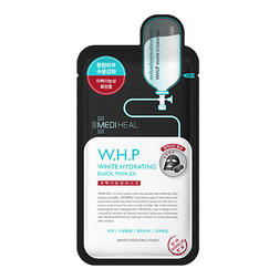 美迪惠尔 W.H.P美白保湿黑炭面膜10片装